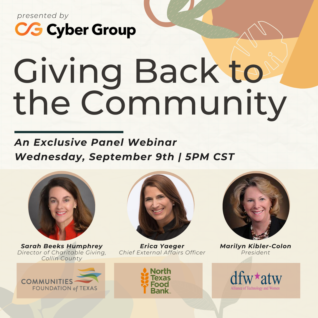 Giving Back to the Community: An Awareness Event Hosted by Cyber Group